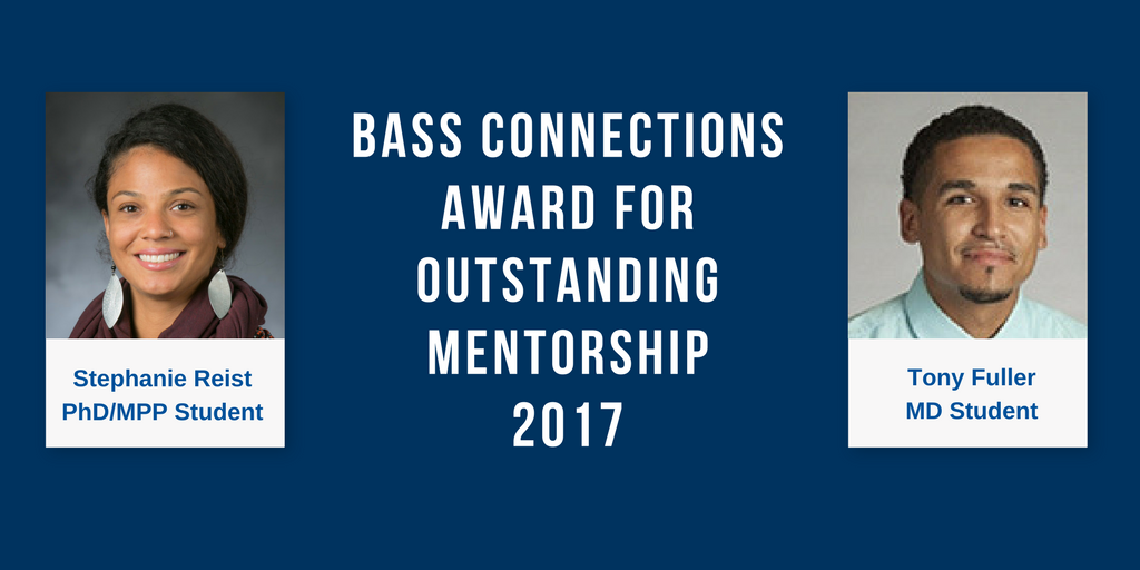 Bass Connections Mentoring Award