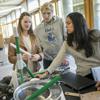 Students in one of Pratt's new undergraduate gateway courses.