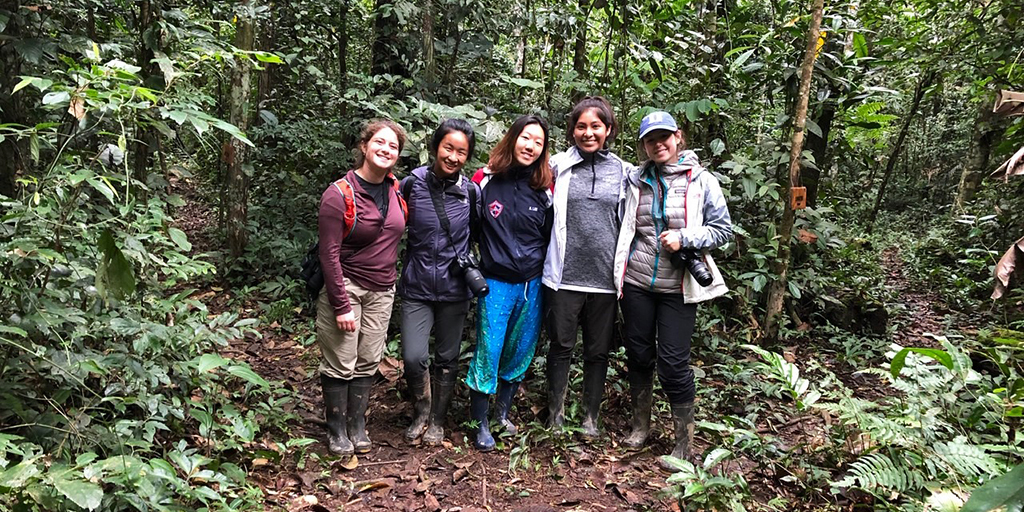 Bass Connections team members in Peru.