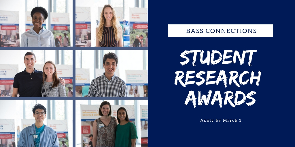 2018 Student Research Grant awardees.