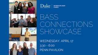 Bass Connections Showcase.