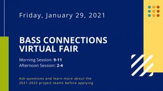 Bass Connections Virtual Fair