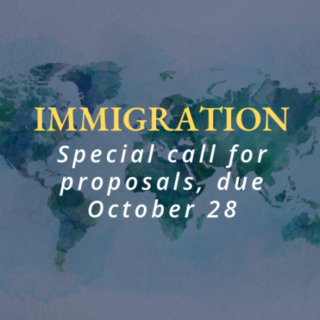 Special call for project proposals: immigration.