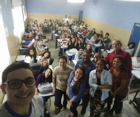 Bass Connections team in Brazil by Adair Necalli