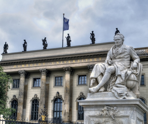 Alexander von Humboldt and the university.