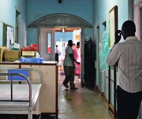 Mulago National Referral Hospital.