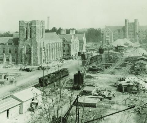 Courtesy of Duke University Archives.
