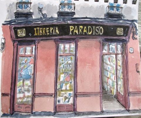 Libreria Paradiso, Gijón.
