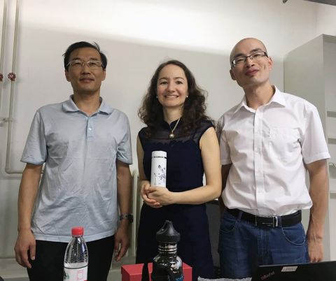 Professor Patino-Echeverri and Postdoctoral Researcher were invited to Peking University China to give a talk