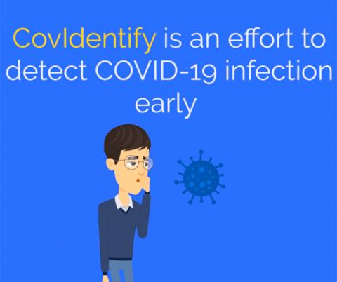 Video still from CovIdentify website.