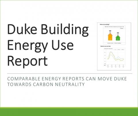 Duke Building Use Report.