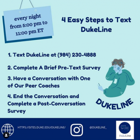 4 Easy Steps to Text DukeLine