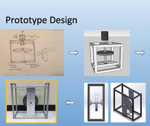 Flywheel energy storage design