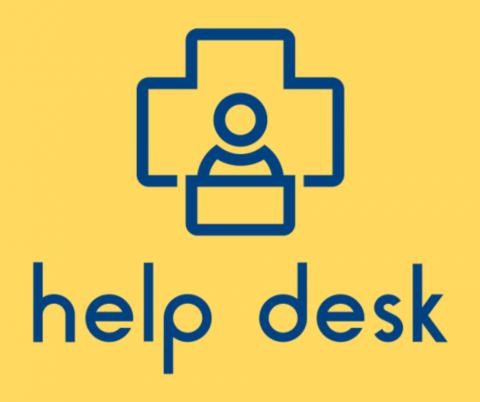 Help Desk logo.