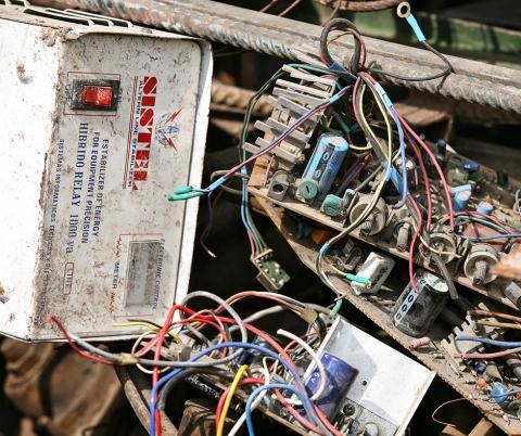 E-Waste Recycling.