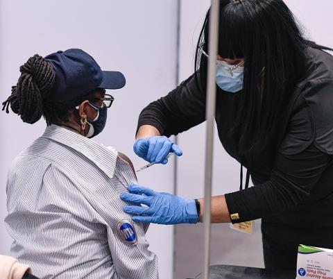 MTA's Heroic Frontline Workers Begin COVID-19 Vaccinations.