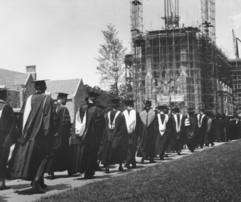 """Duke University Commencement, 1931,"" University Archives Photograph Collection, Box 50, Duke University Archives"