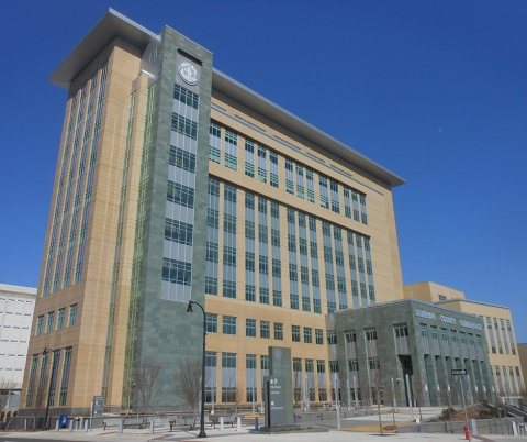 Durham County Justice Center.