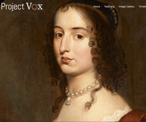 Project Vox website.