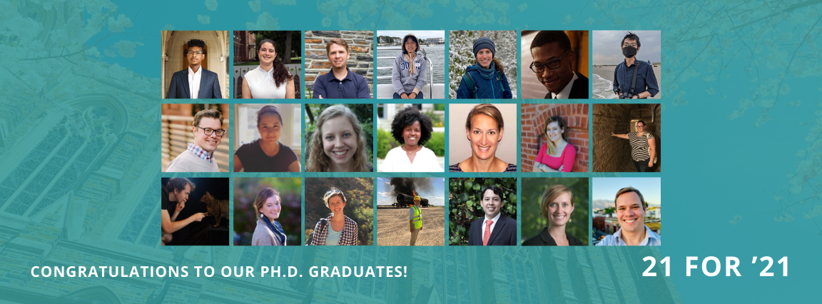 Congratulations to our Ph.D. graduates!