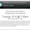 9/10: Education and Poverty: Confronting the Evidence