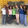 Members of the mVax team in Roatán.