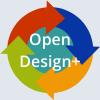 Open Design+ icon.
