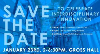 1/23: Save the Date to Celebrate Interdisciplinary Innovation