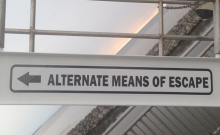 Alternate means of escape.