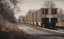 Coal train, by Chris Collins, licensed under CC BY-SA 2.0.