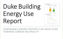 Duke Building Use Report.