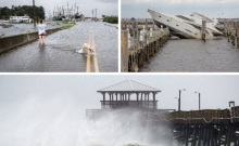 Scenes from Hurricane Florence.