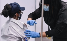 MTA's Heroic Frontline Workers Begin COVID-19 Vaccinations.