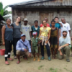 Members of the team pose with fellow researchers and friends in Madagascar.
