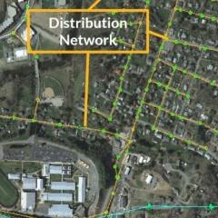 Satellite image.